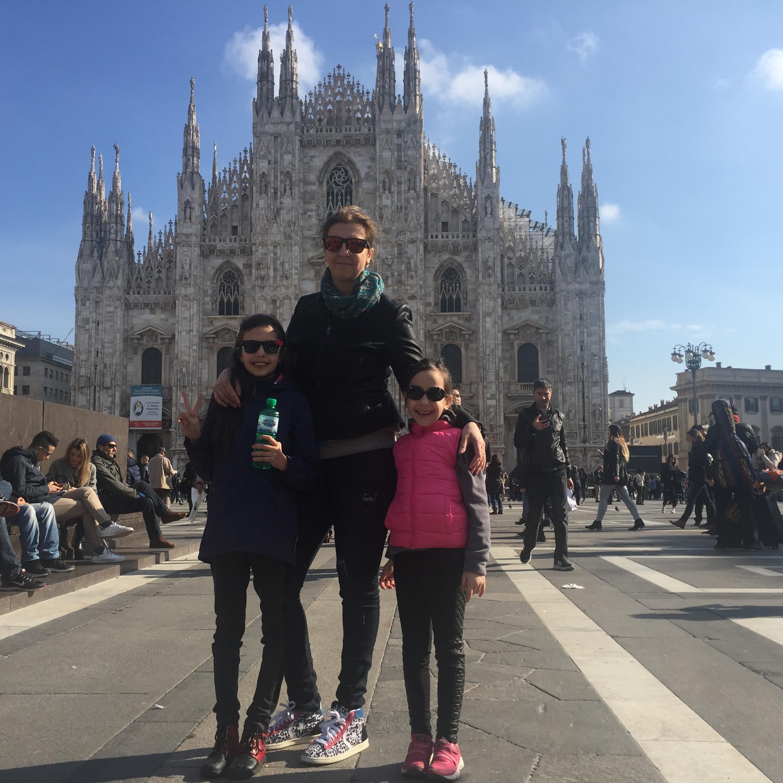 Milano in doua zile cu familia
