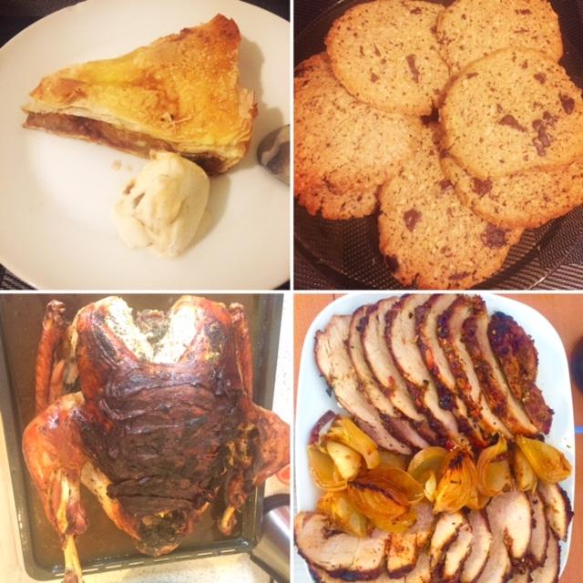 Placinta cu mere, Biscuiti a la Jamie, Curcan la cuptor, Friptura la cuptor